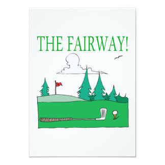 The Fairway Personalized Invitations