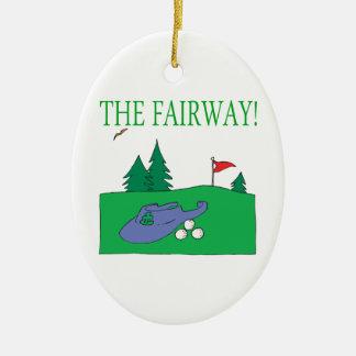The Fairway Ornament