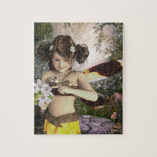 The Fairy and the Dragonfly Jigsaw Puzzle