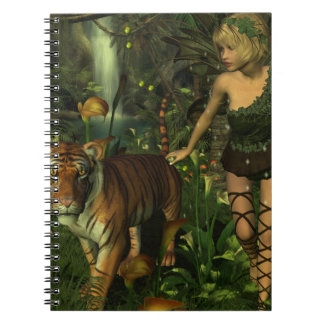 The Fairy and the Tiger Notebook