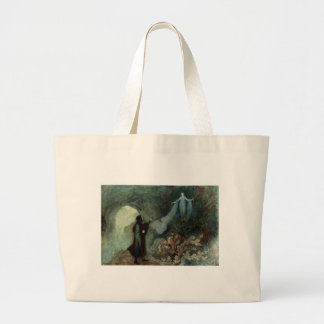 The Fairy Appearing to the Prince Large Tote Bag