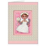 THE FAIRY BRIDE - bridal / wedding card