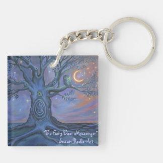 The Fairy Door Messenger Keychain