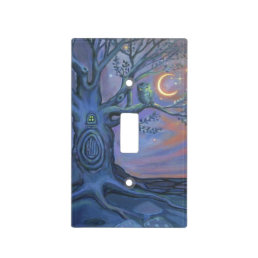The Fairy Door Messenger - Light Switch cover
