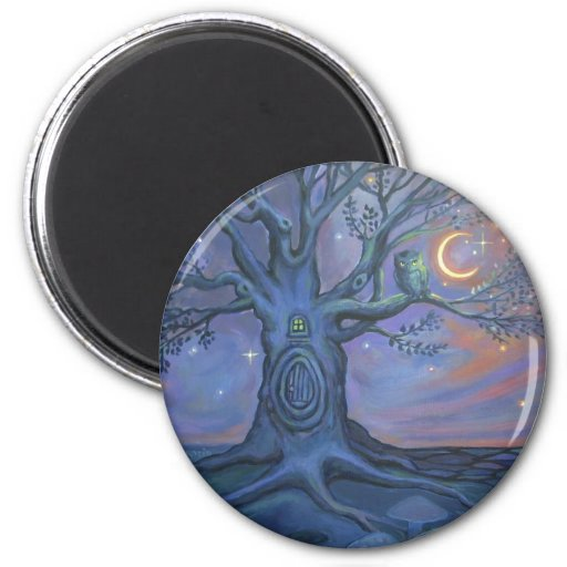 The Fairy Door Messenger Magnet by Susan Rodio