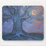 The Fairy Door Messenger Mouse Pad