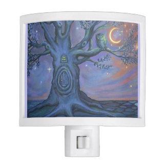 The Fairy Door Messenger - Owl Art Night Light
