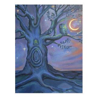 The Fairy Door Messenger - Postcard By Susan Rodio