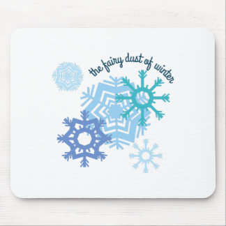 The Fairy Dust Of Winter Mousepads