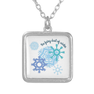 The Fairy Dust Of Winter Custom Necklace