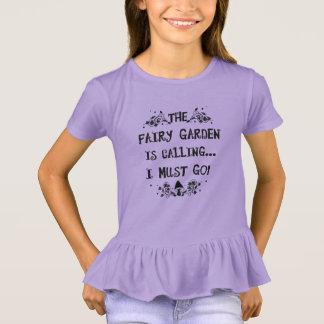 The Fairy Garden is Calling! Girls Fairy Shirt