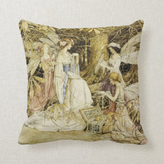 """""""The Fairy Jewels"""" Throw Pillow"""