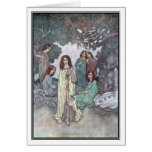 The Fairy of the Garden by Edmund Dulac Card