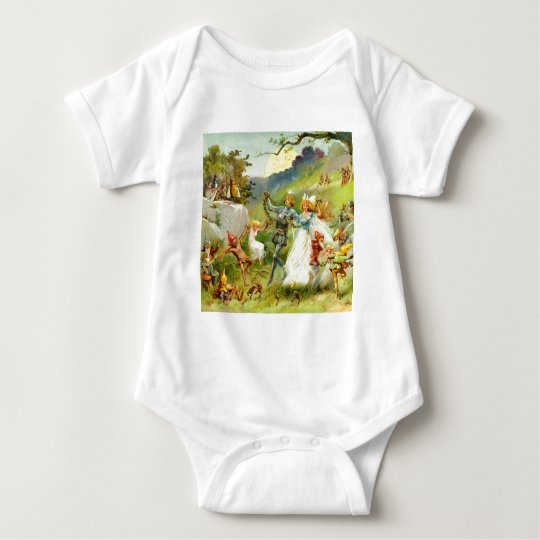 The Fairy Prince and Thumbelina Baby Bodysuit
