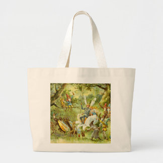 The Fairy Prince and Thumbelina Canvas Bag
