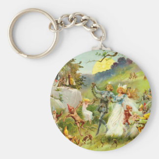 The Fairy Prince and Thumbelina Key Chains