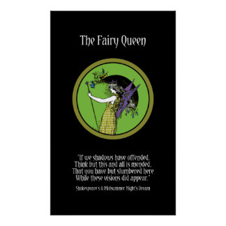 The Fairy Queen Poster