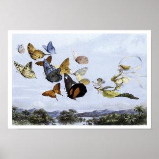 """The Fairy Queen Takes an Airy Drive"" - Print"