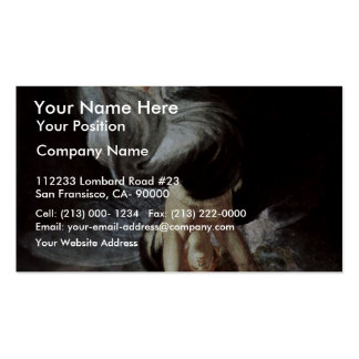The Fairy Queen Titania Is The Magic Ring On The B Business Cards