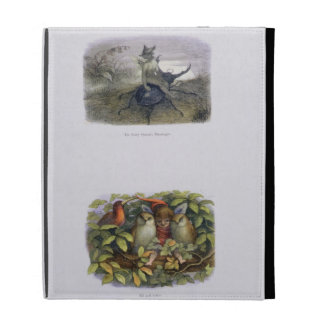 The Fairy Queen's Messenger, and Elf and Owls, ill iPad Folio Case