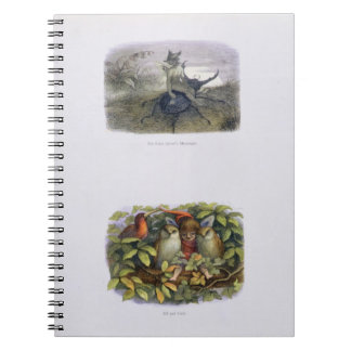 The Fairy Queen's Messenger, and Elf and Owls, ill Notebook