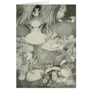 The Fairy Ring Greeting Card