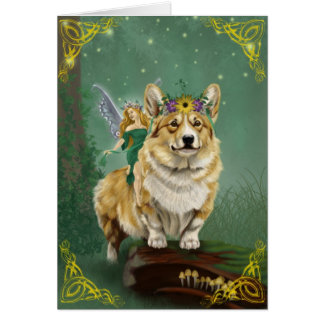 The Fairy Steed Greeting Card