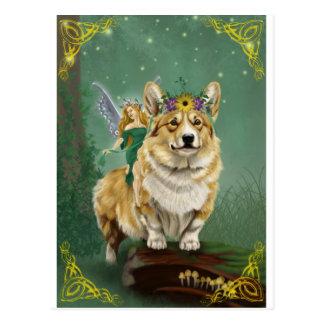The Fairy Steed Postcard
