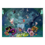 The Fairy Tea Party V Greeting Cards