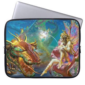 The Fairy & The Dragon Computer Sleeve