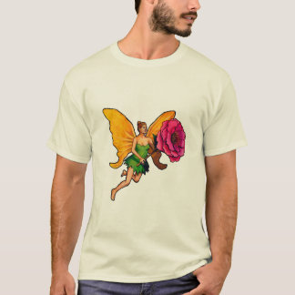 The fairy with the pink T-Shirt