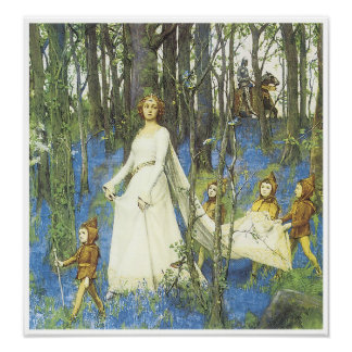 The Fairy Woods, 1903 Poster