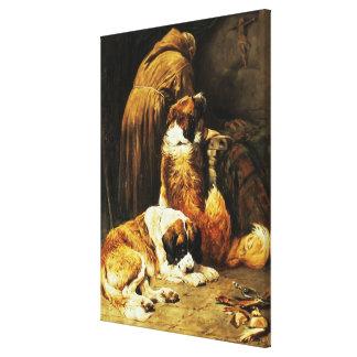 The Faith of St. Bernard Gallery Wrapped Canvas