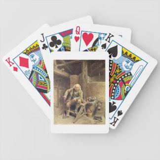 The Faithful Old Servant Bicycle Playing Cards
