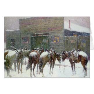 The Faithful Ponies Card