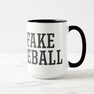 The Fake Baseball Mug