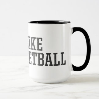 The Fake Basketball Mug