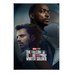 The Falcon and The Winter Soldier Shield Poster