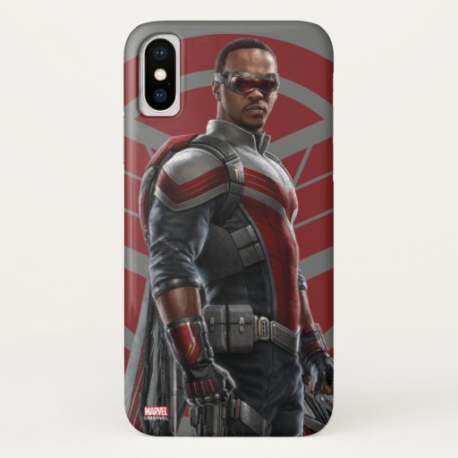 The Falcon Character Art iPhone X Case