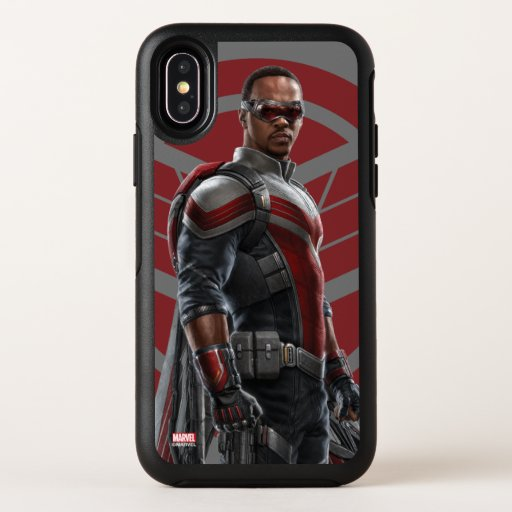 The Falcon Character Art OtterBox Symmetry iPhone X Case