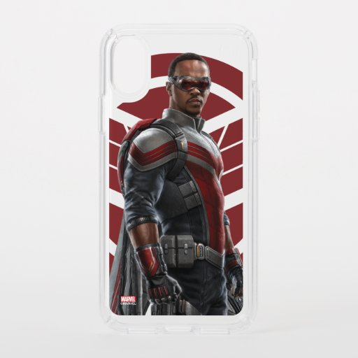 The Falcon Character Art Speck iPhone X Case