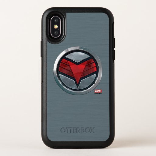 The Falcon Icon Badge OtterBox Symmetry iPhone X Case