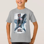 The Falcon Worn Star Poster T-Shirt