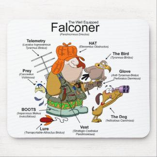 The Falconer Cartoon Mousepad Mouse Pad