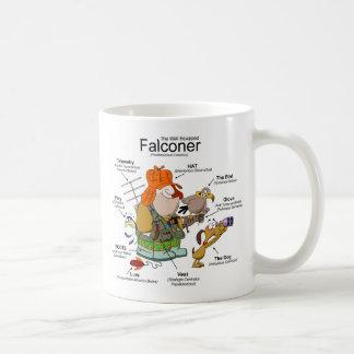 The Falconer Cartoon Mug Basic White Mug