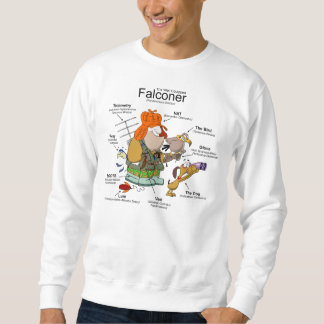 The Falconer Cartoon Sweatshirt