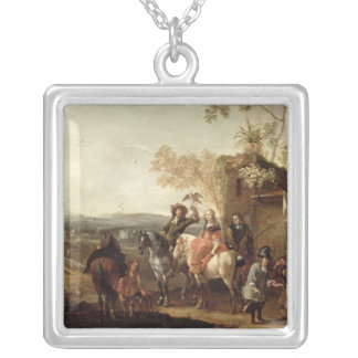 The Falconers Silver Plated Necklace