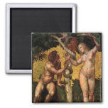 The Fall - Adam and Eve by Raphael or Raffaello Magnets