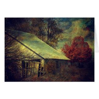 The Fall Barn, Birthday Card
