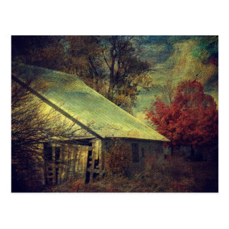 The Fall Barn Postcard